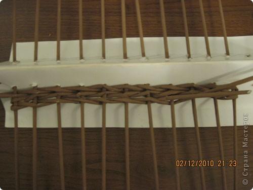 Мастер-класс,  Плетение, : Плетение квадратной (прямоугольной ) коробки Бумага газетная . Фото 13