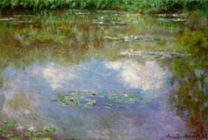 Клод Моне «Водяные лилии»