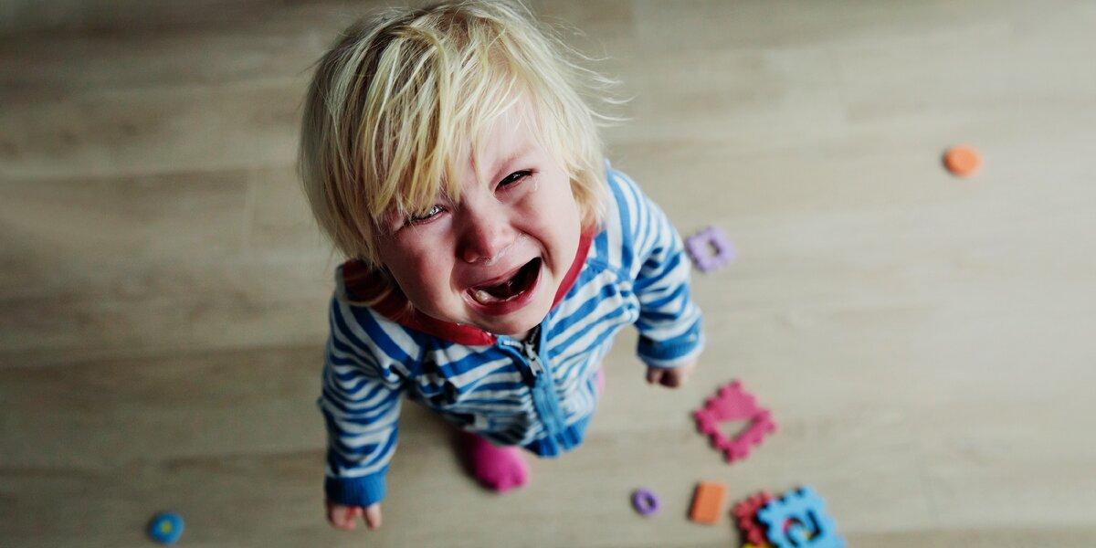 Плачущий ребёнка