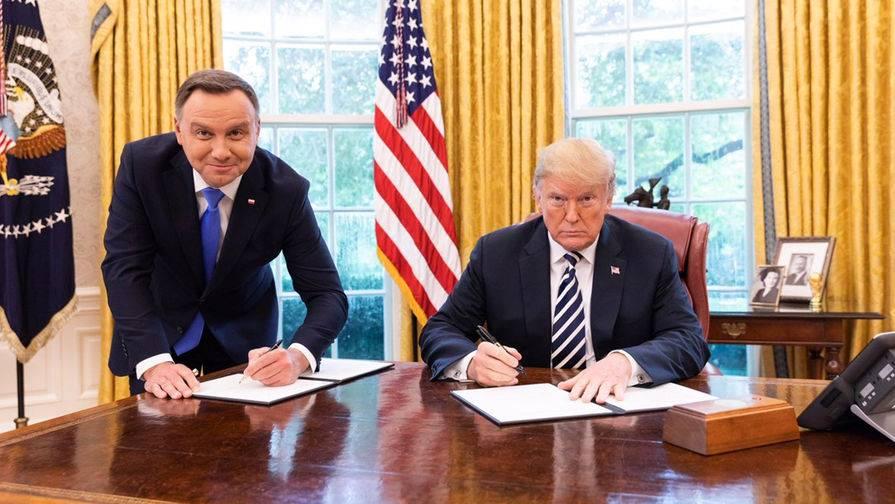 Свобода слова в ЕС: оказывается, Дуда на краю стола Трампа – это харам