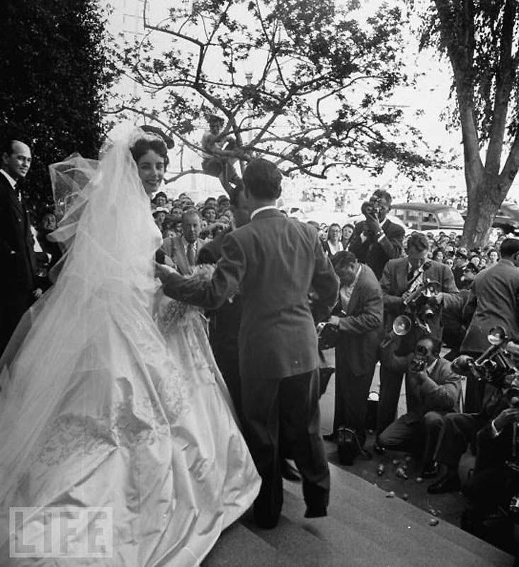 Первая свадьба Элизабет Тейлор (18 фотографий), photo:10