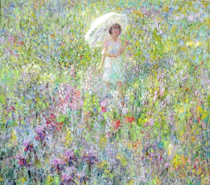 Поле с цветами. Автор: Зундалев Виктор.