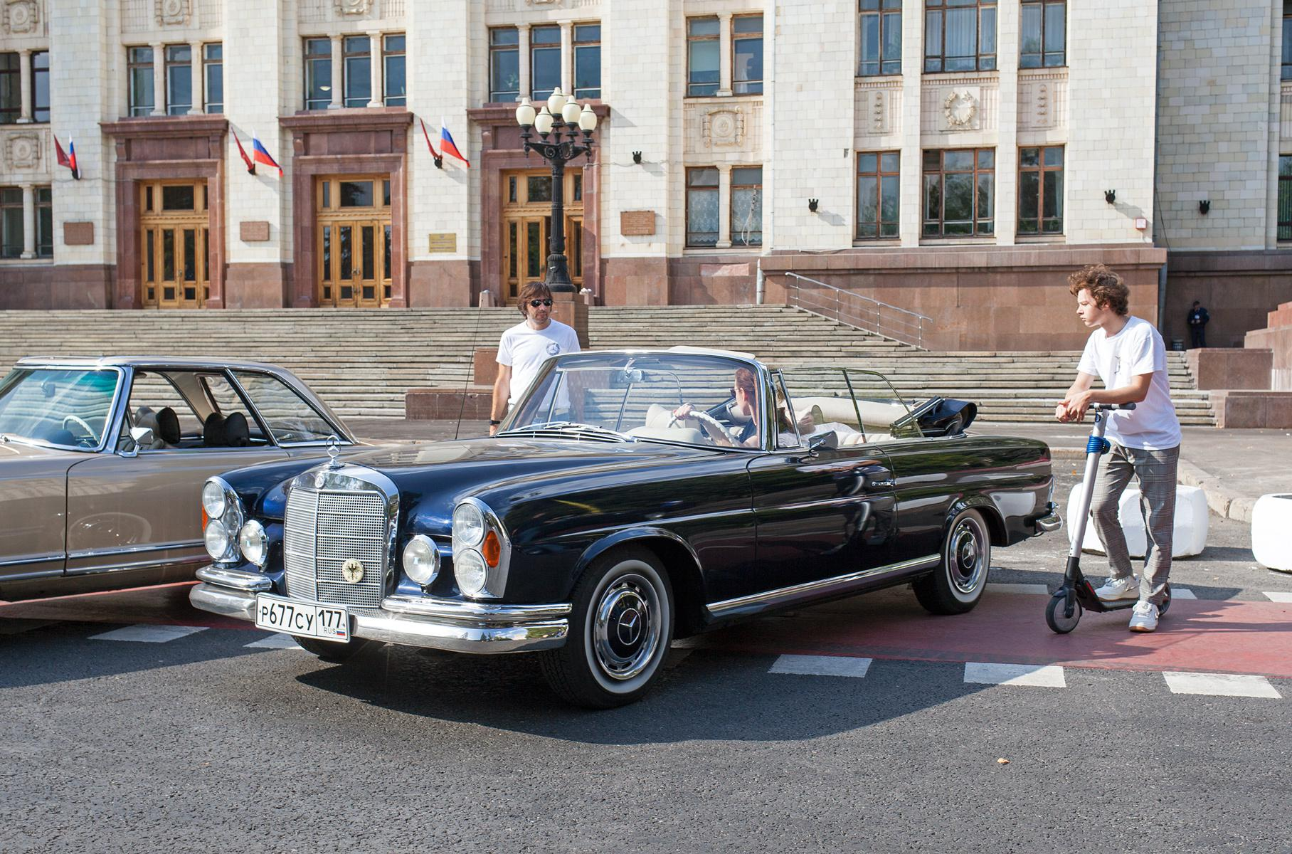 Классические Mercedes-Benz в Москве