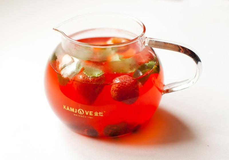 Приготовление фруктовых чаев
