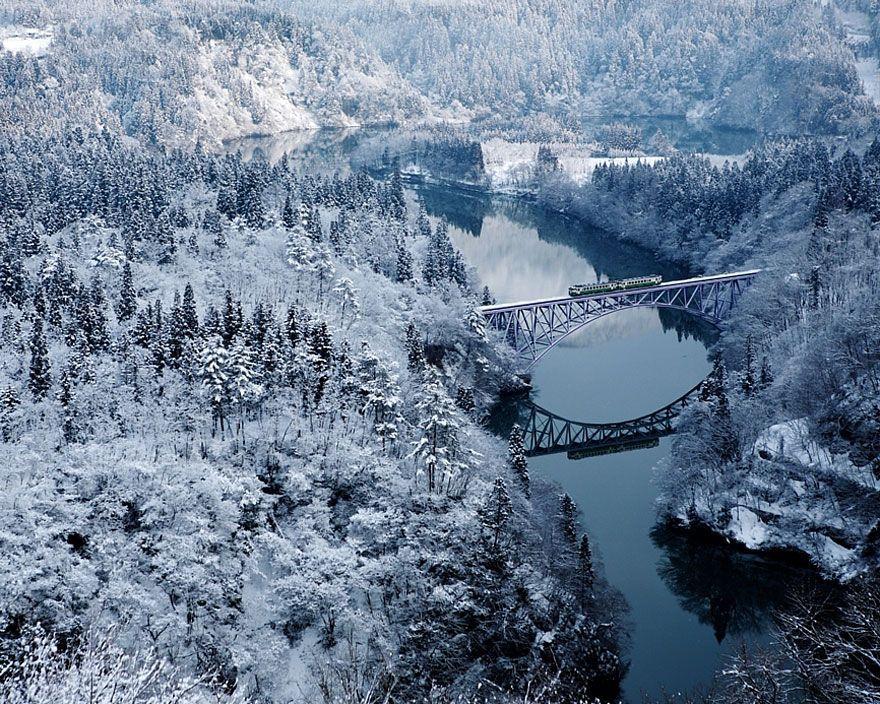Сердце радует взгляд! Фотоподборка восхитительных зимних пейзажей
