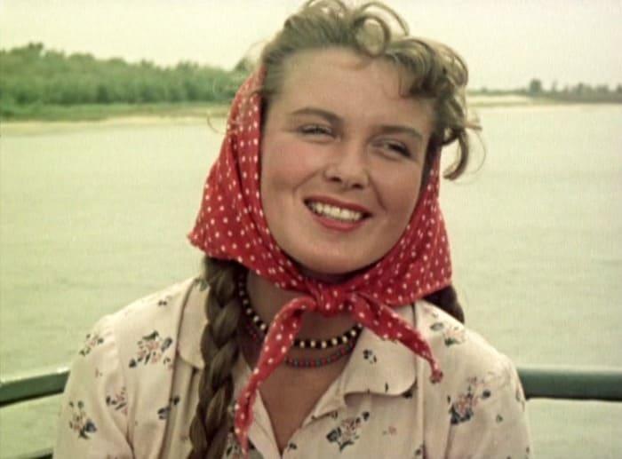 Изольда Извицкая в фильме *Доброе утро*, 1955   Фото: kino-teatr.ru