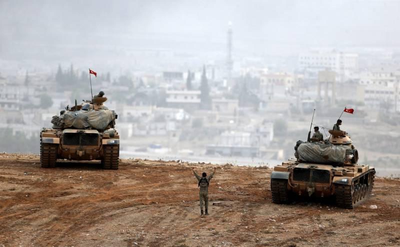 Турки потеряли один танк в боях с курдами в районе турецкой границы