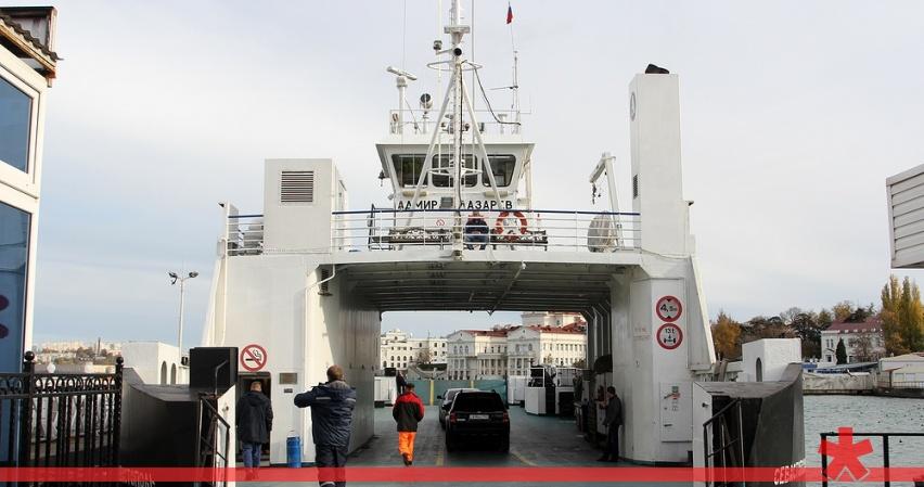 Паромы возобновили движение в Севастопольской бухте