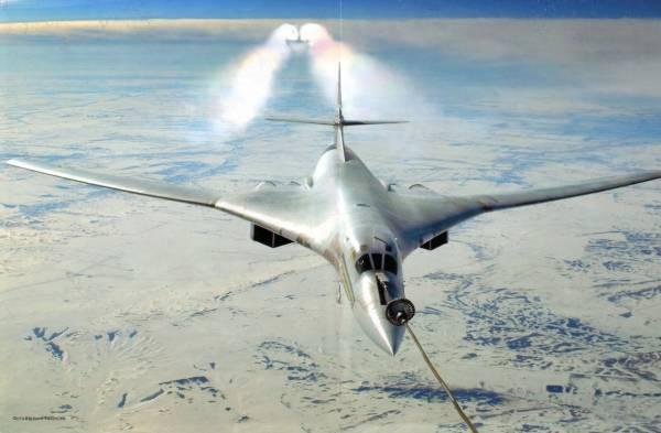 «Белые лебеди» отечественной военной авиации прилетели зимовать на Чукотке