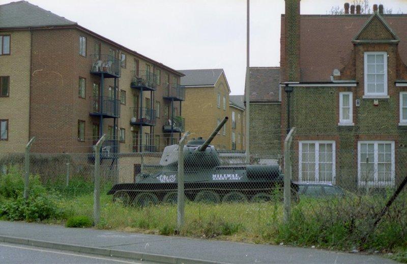 Т-34 в Лондоне