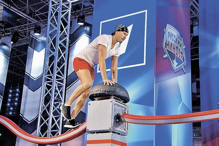 «Русский ниндзя»: цирк со знаменитостями