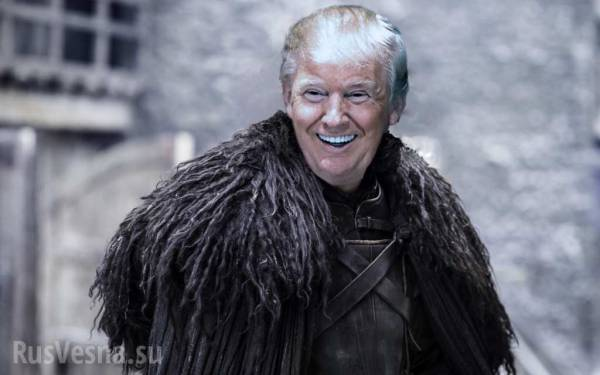 В стиле «Игры престолов»: Трамп достроит огромную стену