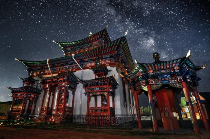 Ошибочка. Это Иволгинский дацан в Бурятии Буддийский монастырь-дацан, центр Буддийской традиционной Сангхи России.