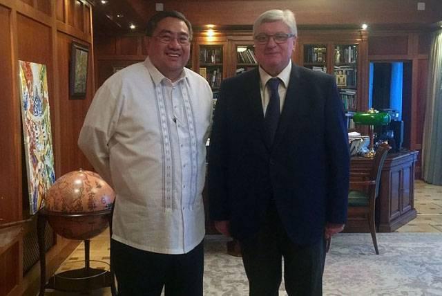 Посол Филиппин: Россия предложила нам льготный кредит на закупку вооружений