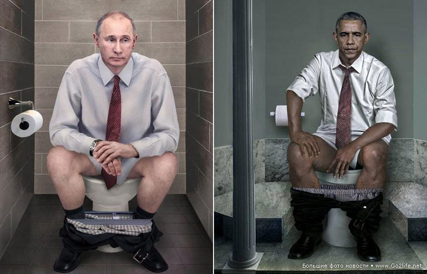 в туалете мужик
