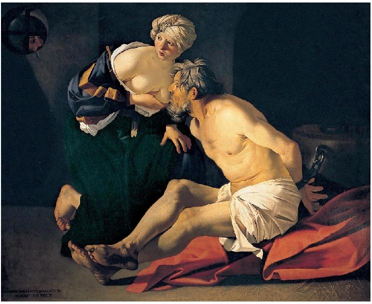 Шокирующее грудное вскармливание - в классической живописи