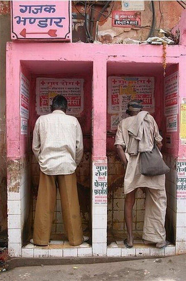 Приличным людям в Индии скрывать нечего funny foto, индия, интересно, смешно, юмор