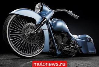 Кастом-байк Blue Envy 2014 от After Hours Bikes