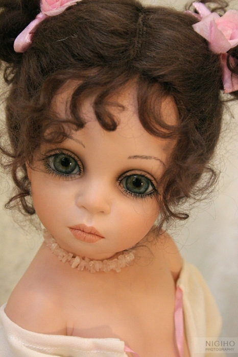 Как сделать красивые лица куклам