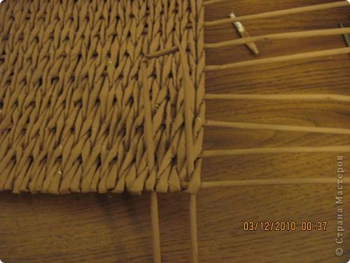Мастер-класс,  Плетение, : Плетение квадратной (прямоугольной ) коробки Бумага газетная . Фото 15