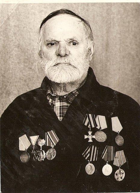 Неизвестный Георгиевский кавалер, 1975-1978 годы.