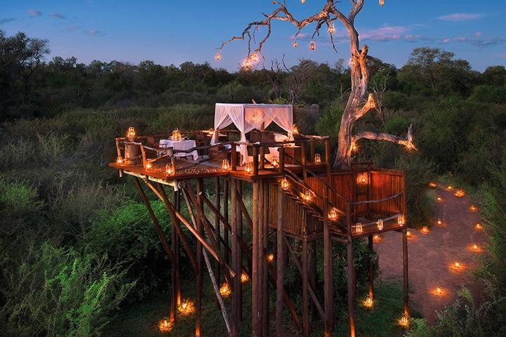 Экзотический курорт Lion Sands в Африке