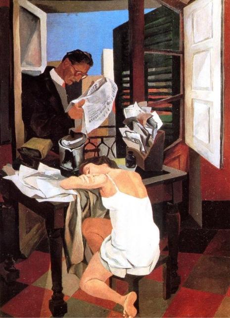 художник Ренато Гуттузо (Renato Guttuso) картины – 31