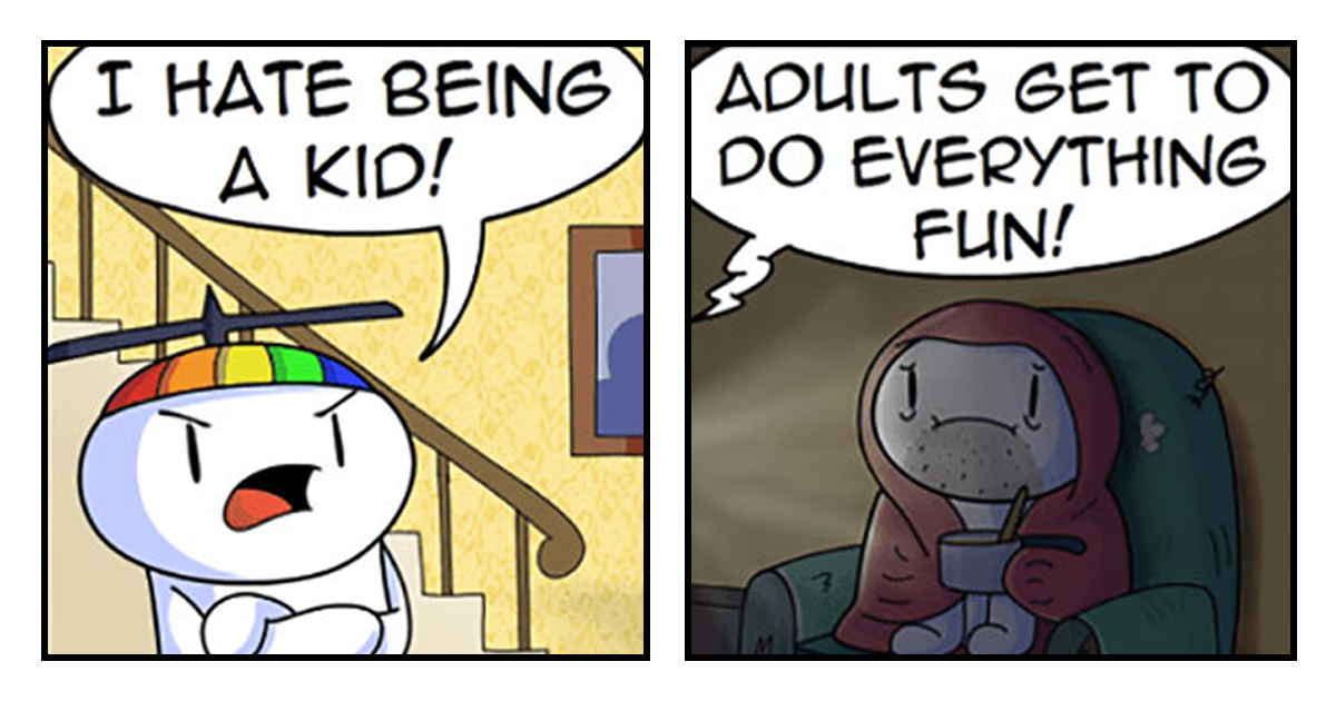71+ Funny And Sometimes Dark Comics By TheOdd1sOut