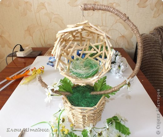 Как сделать гнездо декоративное своими руками
