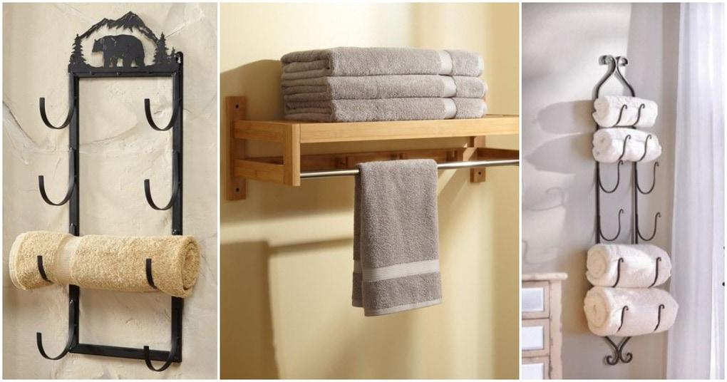 Стильные держатели для полотенец, которые помогут навести порядок в ванной
