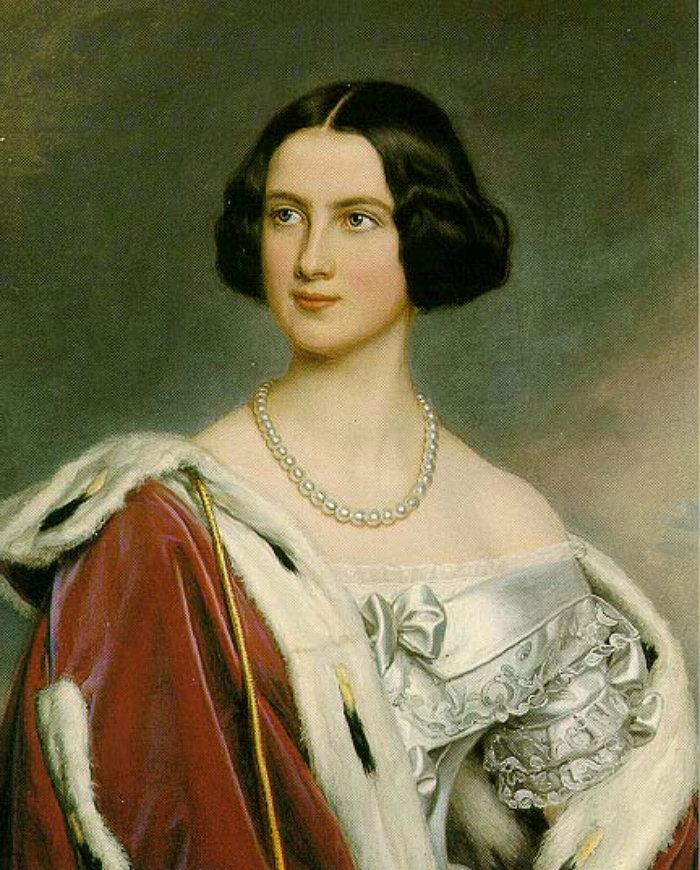 Женщины из галереи Людвига I Баварского