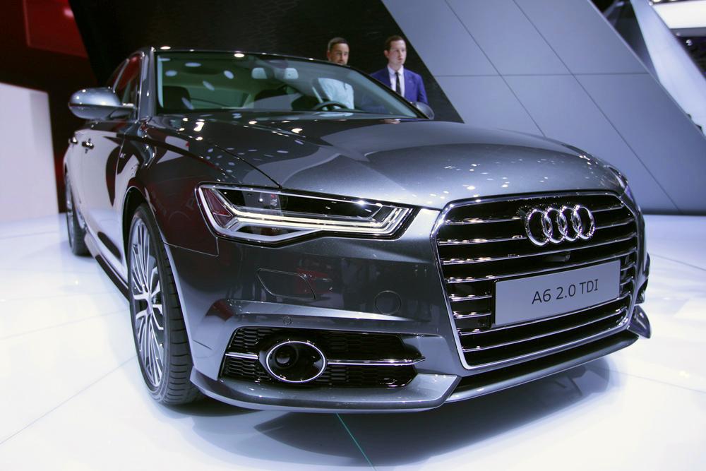 У Audi A6 теперь матричные фары и новые моторы