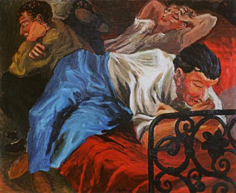 художник Ренато Гуттузо (Renato Guttuso) картины – 26