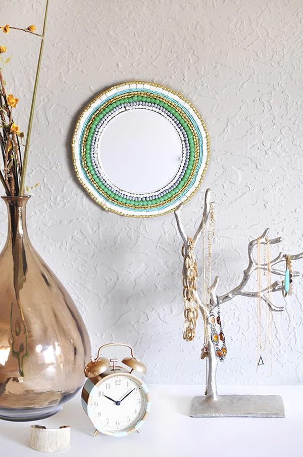 Декор зеркала (Diy)