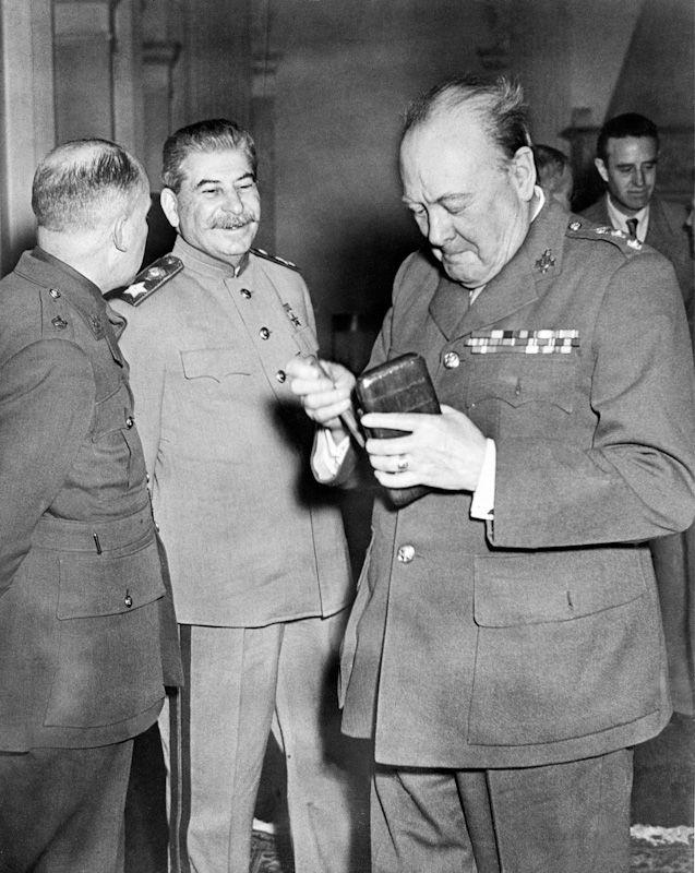 Как делили мир после Второй мировой войны