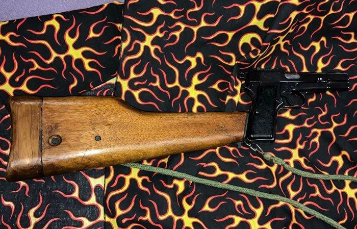 7. Самозарядный пистолет Browning High-Power заем, заемщик, залог, имущество, истории, истории из жизни, ломбард, сдать