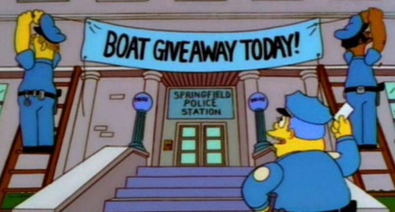 Полицейские использовали гениальную уловку из «Симпсонов» и поймали 21 преступника