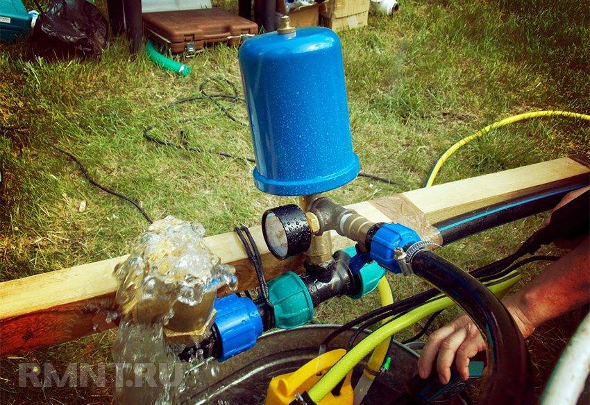 Как сделать насос без электричества 56