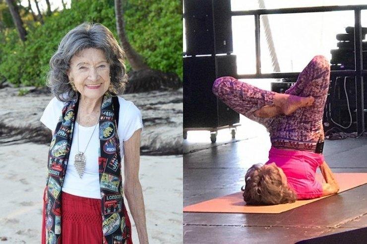 99-летняя преподавательница йоги назвала 5 правил долгой и счастливой жизни