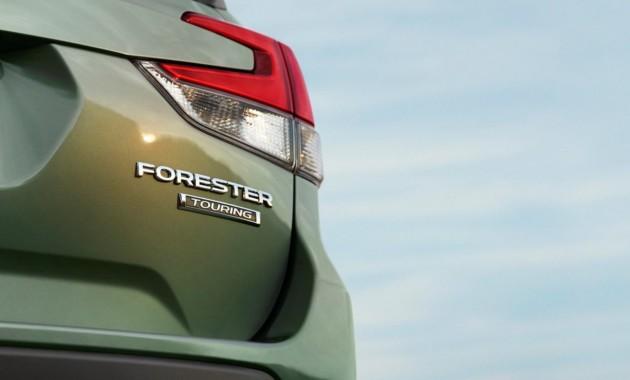 Новый Subaru Forester: второе официальное изображение
