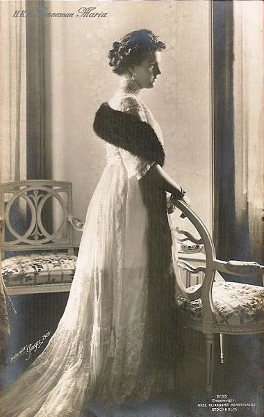 1909 Princess Marie of Sweden, Grand Duchess Maria Pavlovna