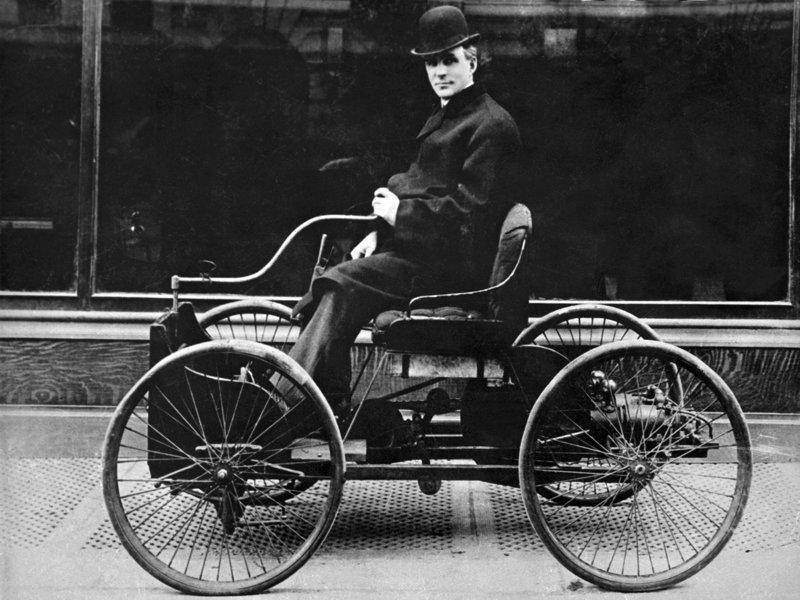 Ранняя история Ford от Quadricycle до Model T