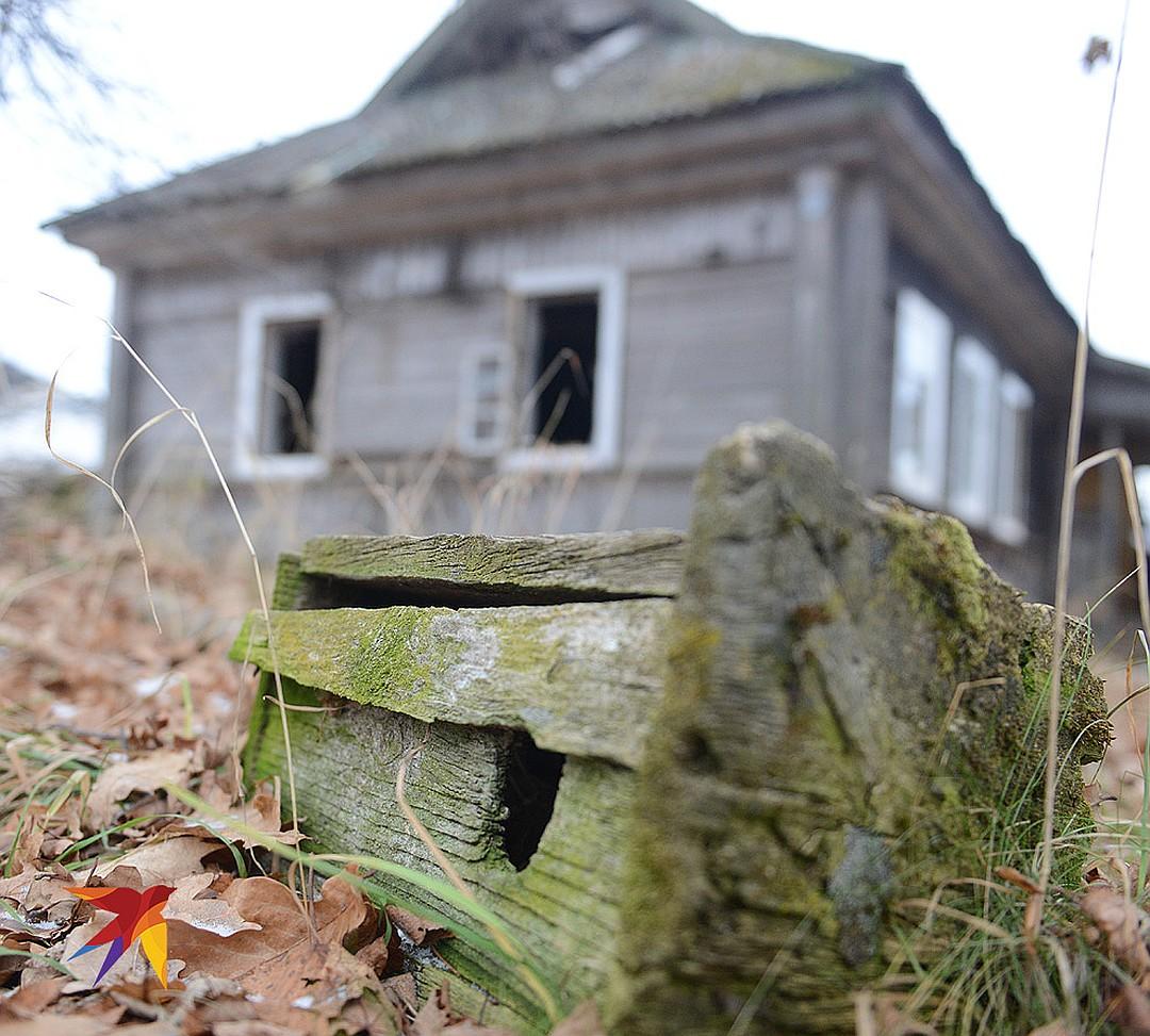 Заброшенный дом в мертвой деревне Халютино. Фото: Дмитрий СТЕШИН