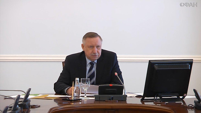 Беглов обсудил с Голиковой ситуацию с обрушением в здании вуза в Петербурге