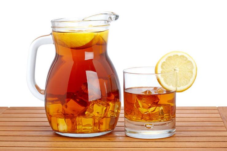 Летние коктейли из чая и кофе