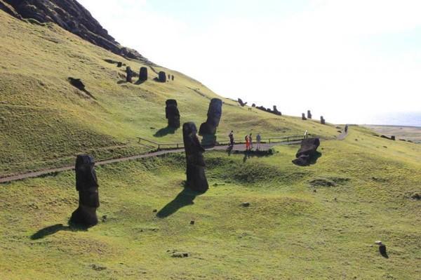 """Цивилизация острова Пасхи вымерла...(""""Человечество путем прогресса движется в концу"""". )"""