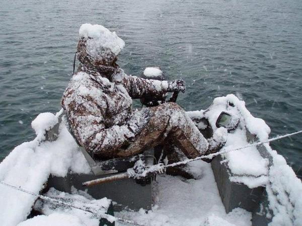 рыбак и снегурочка
