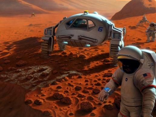 Невозвращенцы на Марс