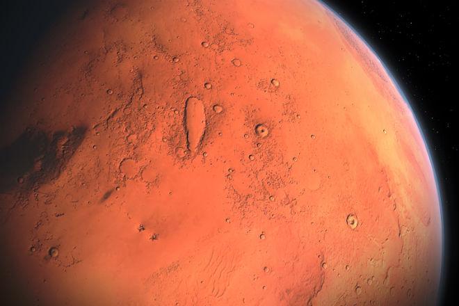 НАСА нашли на Марсе следы древней жизни