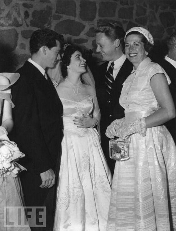 Первая свадьба Элизабет Тейлор (18 фотографий), photo:16
